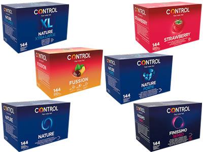 gama preservativos 144 de Control en bilbao