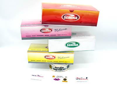 gama preservativos 100 de SERENA en bilbao